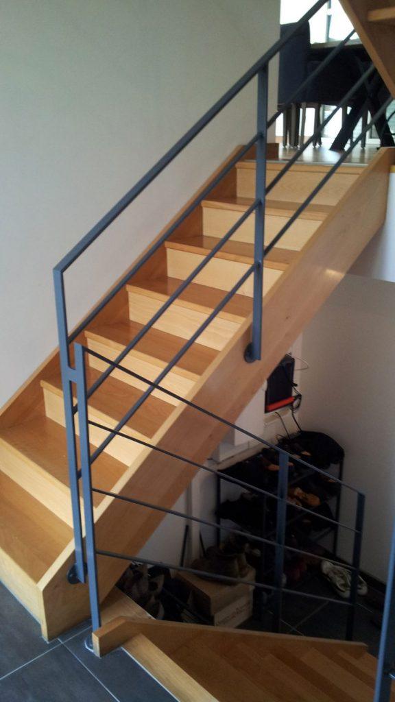 Escaliers métal près d'Évreux (27)